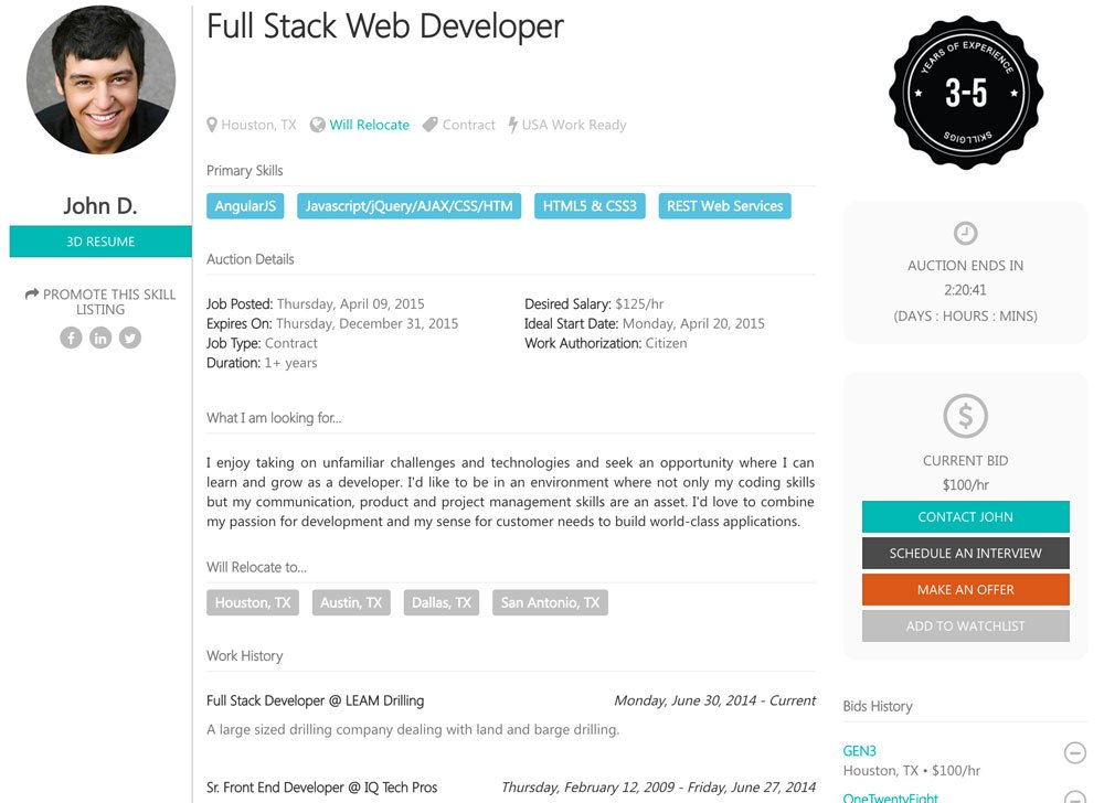 skillgigs for sourcing passive candidates