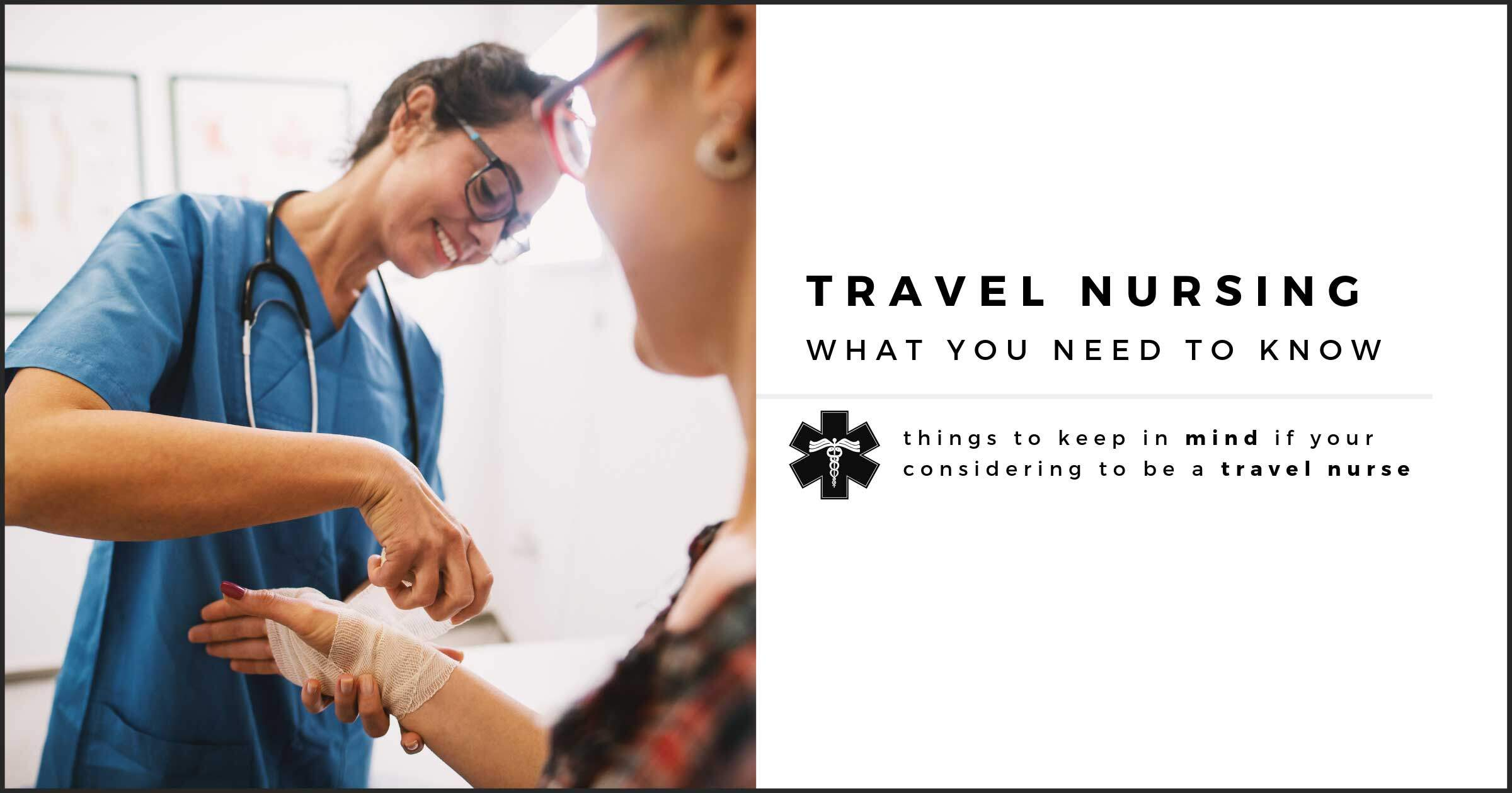Pre-Requisites to Becoming a Travel Nurse